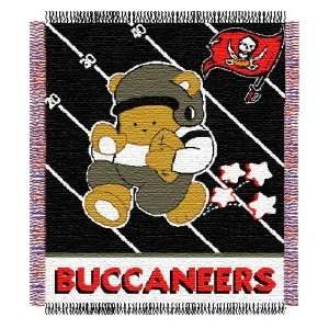 Tampa Bay Buccaneers 36x48 NFL Baby Blanket / Throw