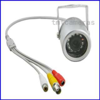 Mini Outdoor 650TVL SONY CCD IR Leds Night Vision Dome Color Camera