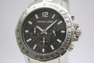 New Michael Kors Round Men Chronograph Watch MK8172