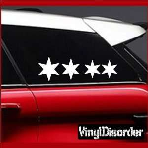 Family Decal Set Stars 03 Stick People Car or Wall Vinyl