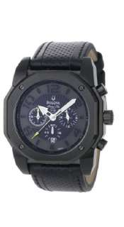 Bulova Men,s Marine Star Black Watch 98B151