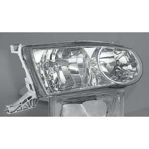 02 TOYOTA COROLLA HEADLIGHT ASSEMBLY, PASSENGER SIDE   DOT Certified