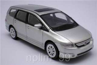unit of 1/43 Scale Diecast Model Car of Honda Odyssey,Silver Color