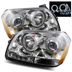 05 07 Dodge Magnum CCFL Halo LED Projector Headlights