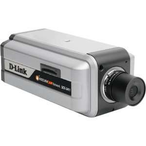 D Link DCS 3411 Surveillance/Network Camera   Color. 10/100