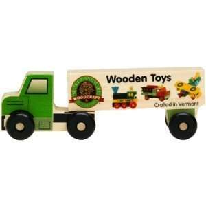 Wooden Semi Truck Wooden Toys   8 Long Toys & Games