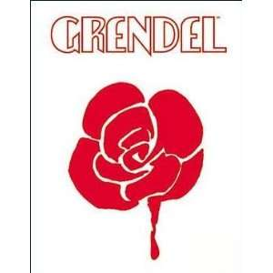 Dark Horse Grendel Rose Logo Sticker 12 040 Toys & Games
