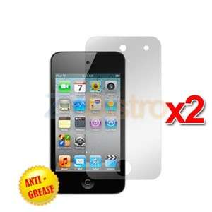 2X Anti Glare Matte LCD Screen Protector Cover for iPod Touch 4th Gen