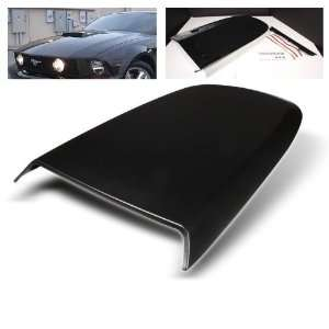 Ford Mustang 05 09 V6 Hood Scoop  Black Performance