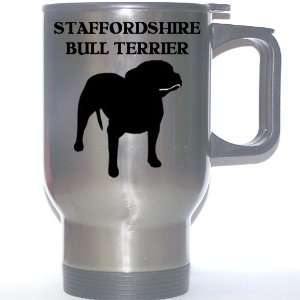 Staffordshire Bull Terrier Dog Stainless Steel Mug