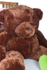 Light Brown Giant Stuffed animal Christmas TEDDY BEARs