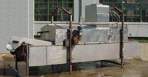 Heat and Control Continuous Potato Chip Fryer Stainless Steel