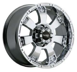 17 inch 17x9 Incubus Krawler chrome wheels rims 6x135