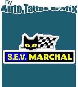 SEV MARCHAL Decal Sticker Car Truck Race Car Hot Rod S.E.V MARCHAL