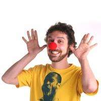 24 Red Foam Clown Noses Circus Party Favors