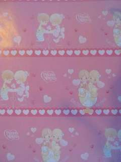 PRECIOUS MOMENTS Party Wrapping Favor Paper Books x5 PK