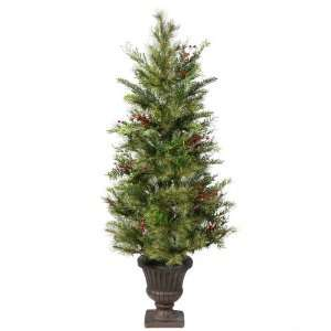 36 Kunesh Berry Mix Pine Potted Christmas Tree
