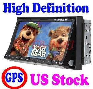 Inch 2 Din Car Stereo DVD Player GPS Navigation Touch LCD/PIP/TV/RDS