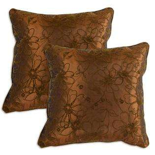 Copper Corded Accent Pillows (Set of 2)