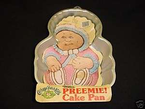 Wilton CP PREEMIE cake pan INFANT BABY mold tin INSTRUC