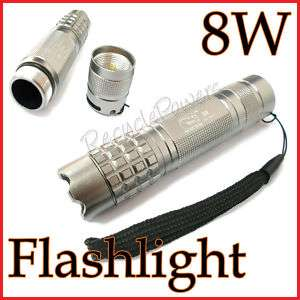 8W 14500 LED Torch Flashlight Lamp Hiking waterproof S1