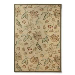 Orvis Foliage and Floral Indoor/Outdoor Floral Rug