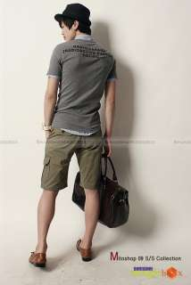 Men Premium Casual Summer Slim Fit Shorts Short Pants