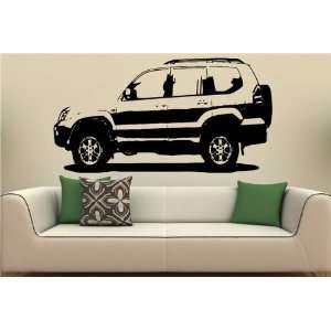 Wall MURAL Vinyl Sticker Car TOYOTA PRADO S. 1452