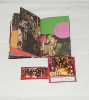 SNSD GirlsGeneration Vol. 2   Oh Autographed CD