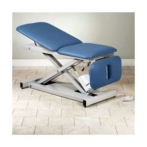 Open Base Power Table with Adjustable Backrest & Drop
