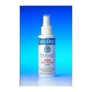 CryoDerm Pain Relieving Analgesic Cryotherapy Spray  4oz. Professional
