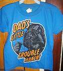 boys size 4 5 darth vader dads little trouble maker