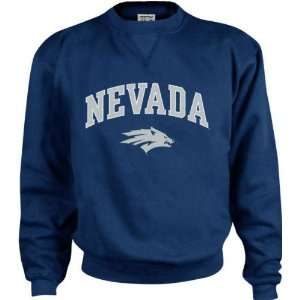 Nevada Wolf Pack Kids/Youth Perennial Crewneck Sweatshirt Sports