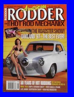 MAY 1997,1932 FRAME,1933 FORD,1940 COUPE,VRA,HOT ROD MAGAZINE