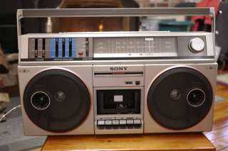 500 Stereo Boombox Ghettoblaster AM FM Radio Tape Player JAPAN