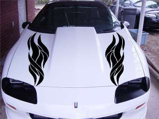 DODGE CHALLENGER FORD HOOD VINYL DECAL STICKER 009