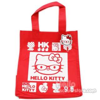 Hello Kitty Reusable Shopping / Gerocery Bag  Red