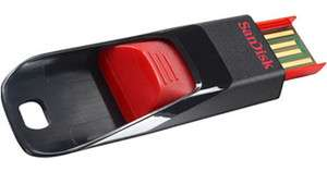 SANDISK CRUZER EDGE USB FLASH DRIVE 4GB 4G 4 G GB NEW