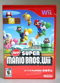 New Super Mario Bros. (Wii, 2009) Brand New, Sealed