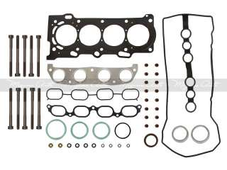 98 05 1.8L Toyota Corolla 1ZZFE Head Gasket Set + Bolts
