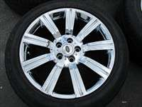 Rover Sport Factory 20 Chrome Wheels Tires Stormer 72200 OEM Rims