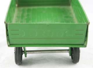 Ertl Green & Yellow John Deere Farm Hay Wagon Trailer 74 7650