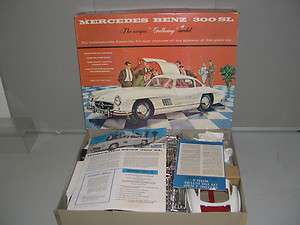 Renwal   Huge 1/12 Mercedes Benz 300 SL Kit   MIB