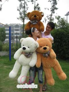 NEW GIANT 39 TEDDY BEAR HUGE SOFT 100% COTTON TOY