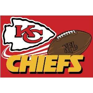 Kansas City Chiefs NFL Team Tufted Rug by Northwest (20x30