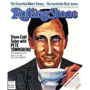 Pete Townshend, 1982 Rolling Stone Cover Poster by Julian