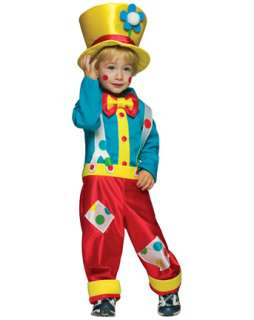 Toddler Colorful Boy Clown Costume  Wholesale Clown Halloween Costume