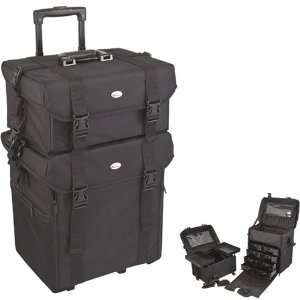BLACK TROLLEY 1680D NYLON CASE   CCNR02 Electronics