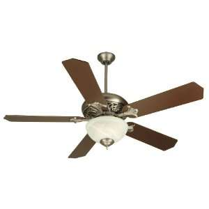 Craftmade MI52PT Pewter Custom Blade Options Tuscan Indoor Ceiling Fan