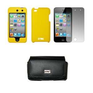 Case + Screen Protector for Apple iPod Touch 4 Cell Phones